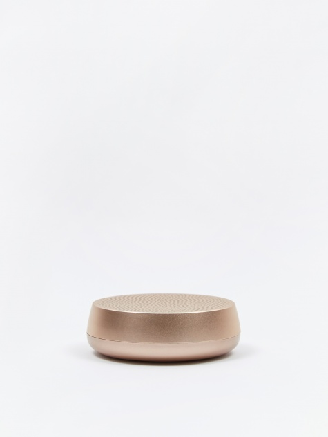 MINO Large Bluetooth Speaker - Soft Gold