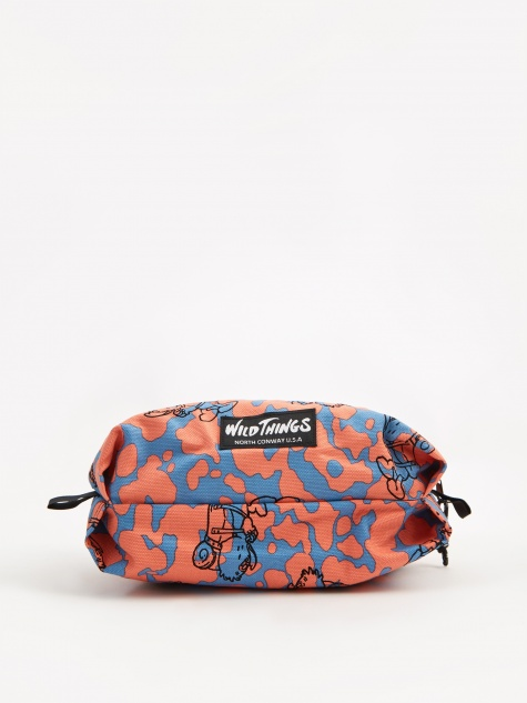 Wild Things x Gasius x Fabrick Light Zip Pouch - Multi