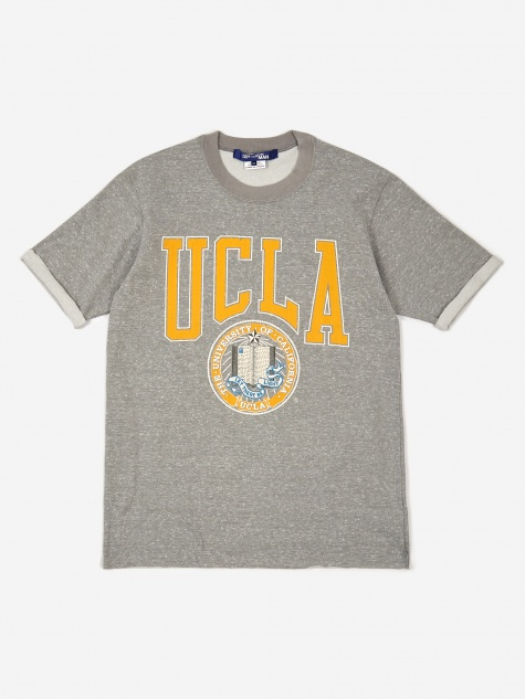 T-Shirt - Grey/Yellow