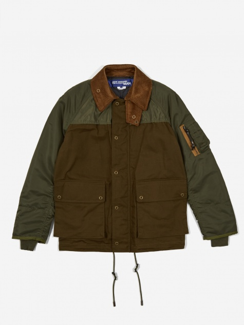 Duck Jacket - Khaki/Green
