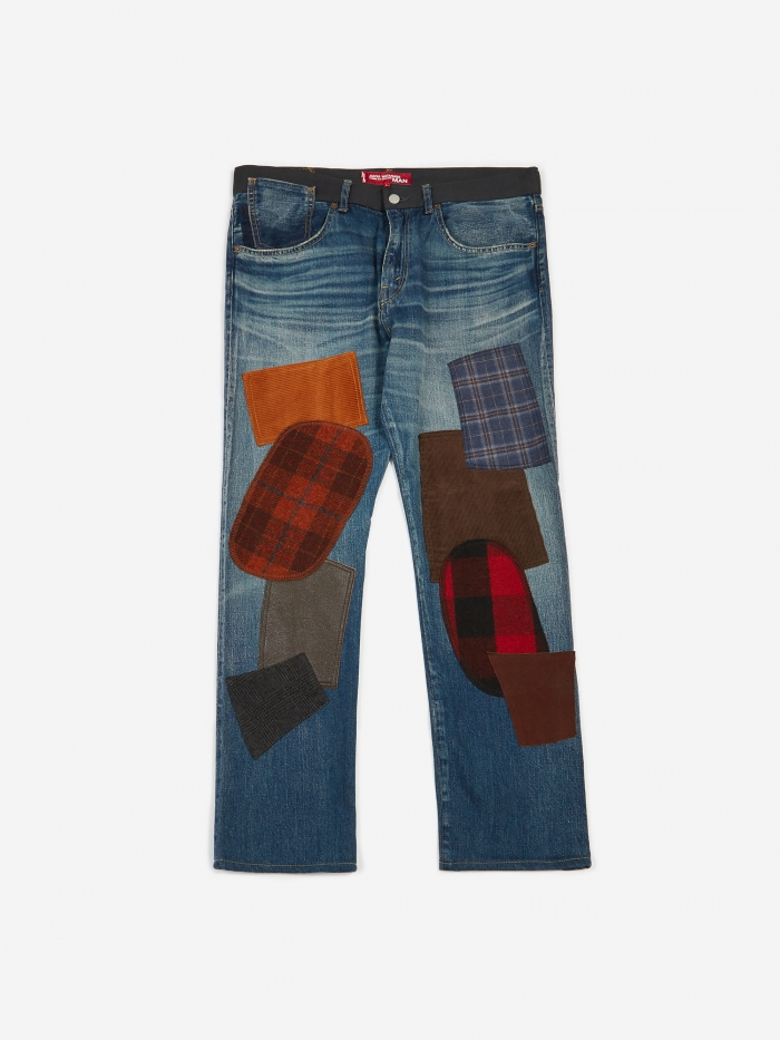 Junya Watanabe Man Customise Selvedge Denim Levis 501 1954 - In (Image 1)