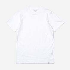 Norse Projects Niels Standard SS T-Shirt - White