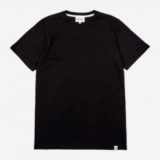 Norse Projects Niels Standard SS T-Shirt - Black