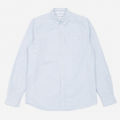 Norse Projects Anton Oxford Shirt - Blue Stripe