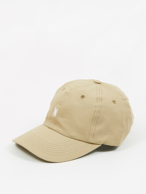 Twill Sports Cap - Utility Khaki