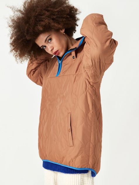 Cipolla Wadding Anorak - Biscuit