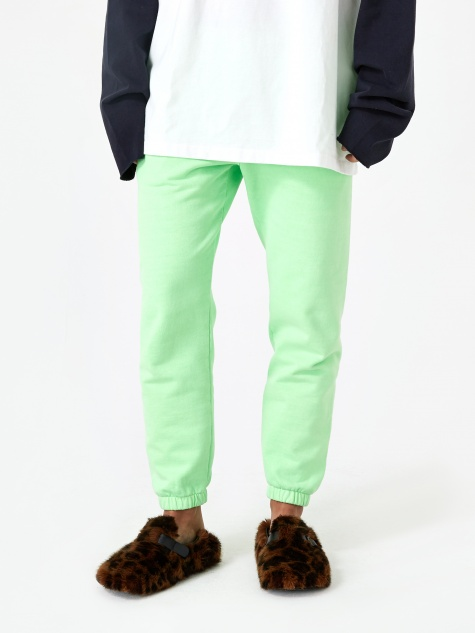 Stand Alone Sweatpant - Green