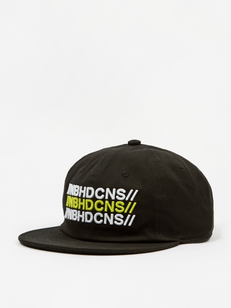 x Neighborhood 6 Panel Hat - Black