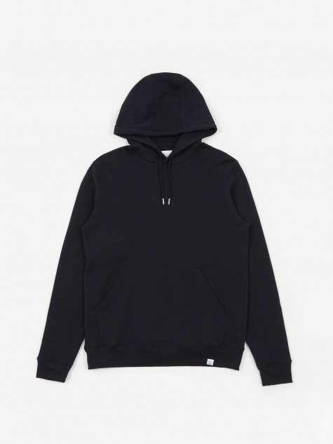 Vagn Classic Hooded Sweatshirt - Dark Navy