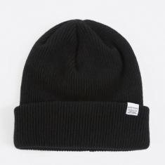 Norse Projects Norse Beanie Hat - Black
