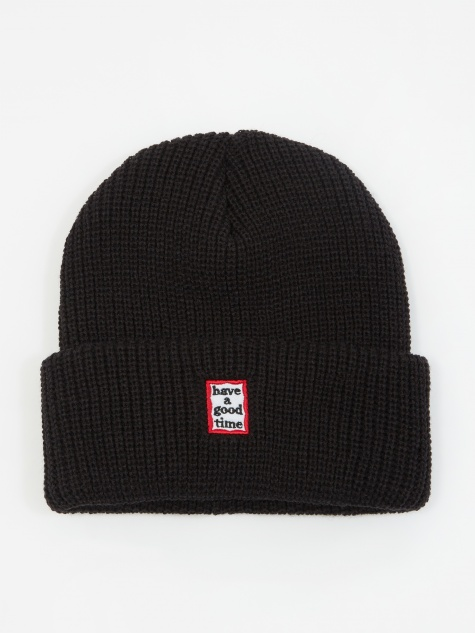 Mini Mini Frame Beanie - Black