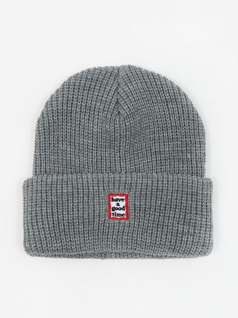 Mini Mini Frame Beanie - Grey