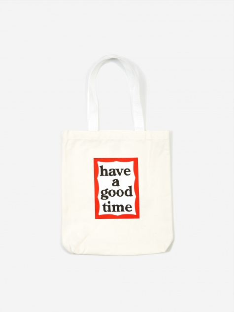 Frame Tote Bag - White