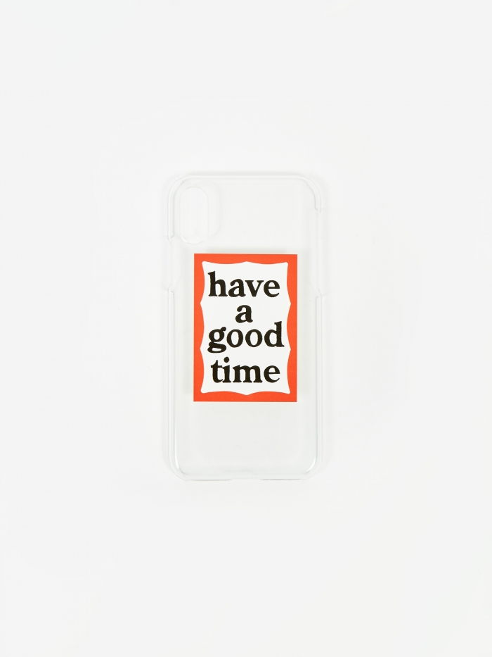 Have A Good Time Frame X/XS IPhone Case - Clear (Image 1)