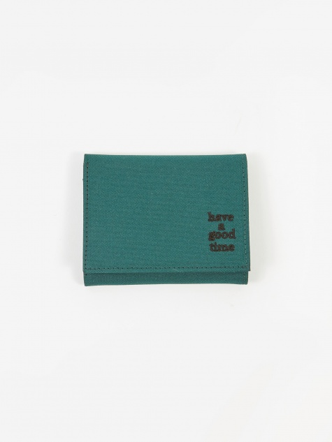 Logo Wallet - Smokey Green