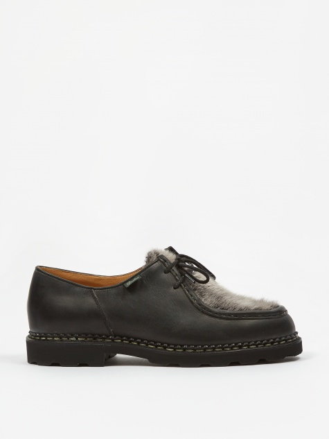 Michael Shoe - Black Matte/Mink