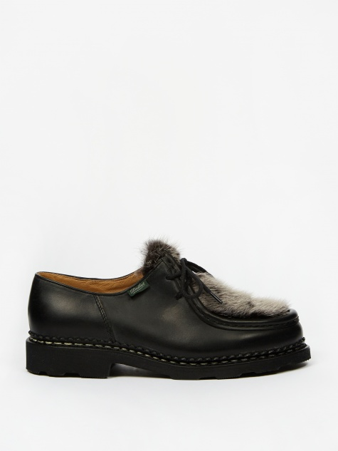Michael Shoe - Black Smooth/Mink