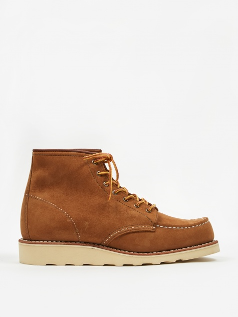 6 inch Classic Moc Toe Boot - Honey Chinook