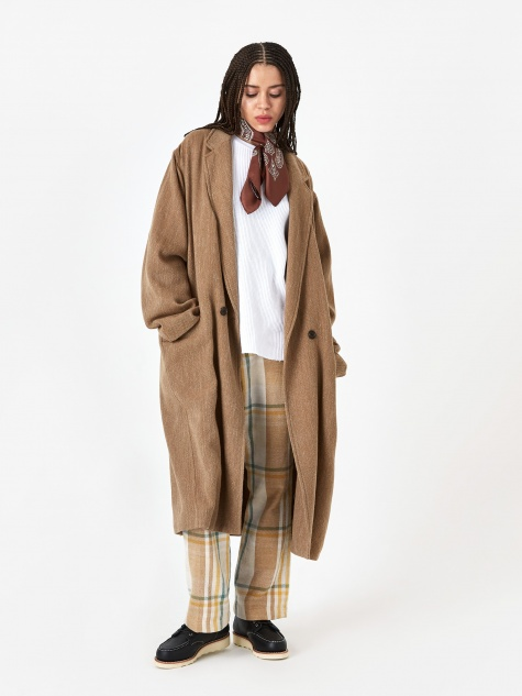 Oversized Coat - Beige