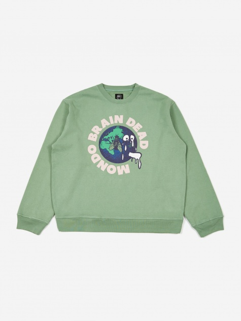 Mondo Crewneck Sweatshirt - Putty