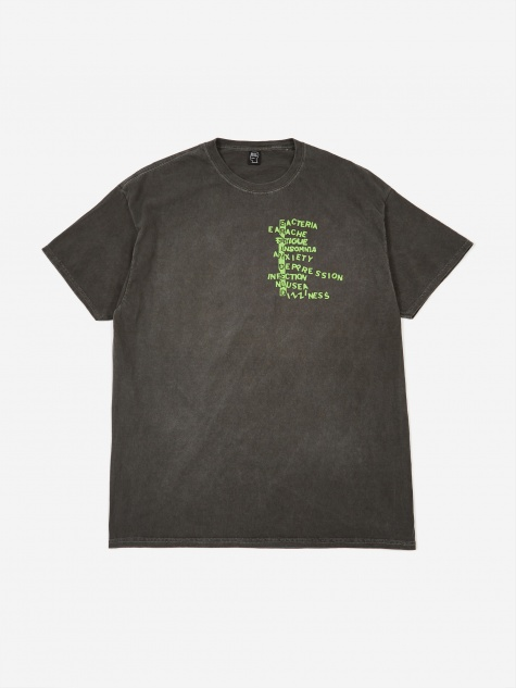 Heatwave Shortsleeve T-Shirt - Washed Black