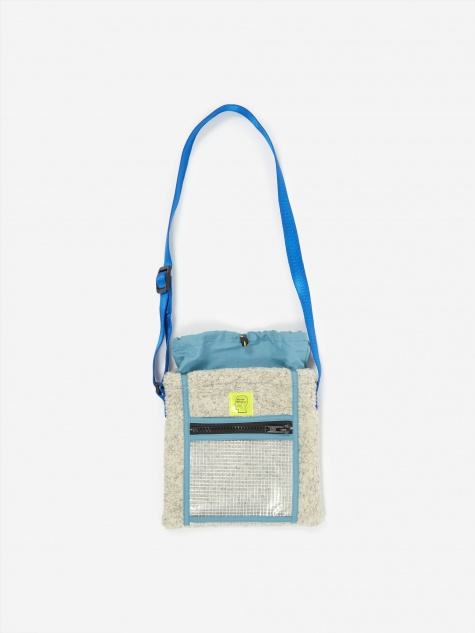 Rush Hour Tote Bag - Cream/Blue