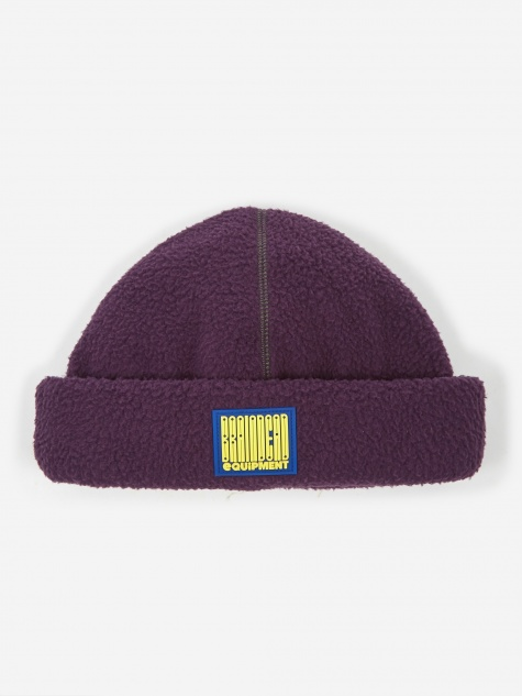 Brain Dead Sherpa Beanie Hat - Purple