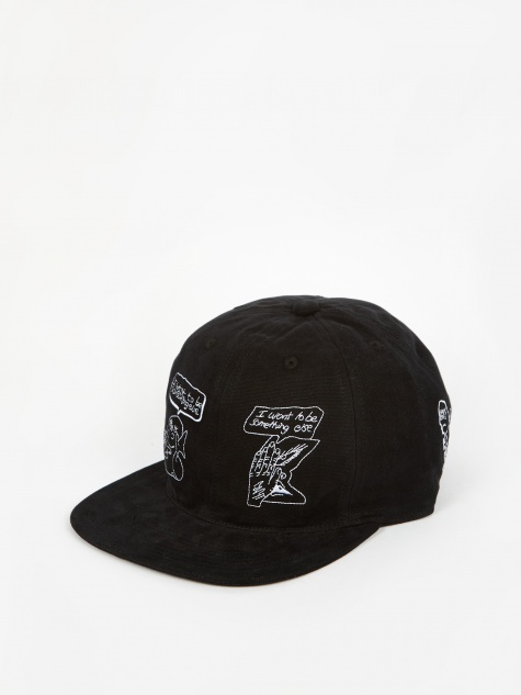 Leon Sadler Strap Back Cap - Black