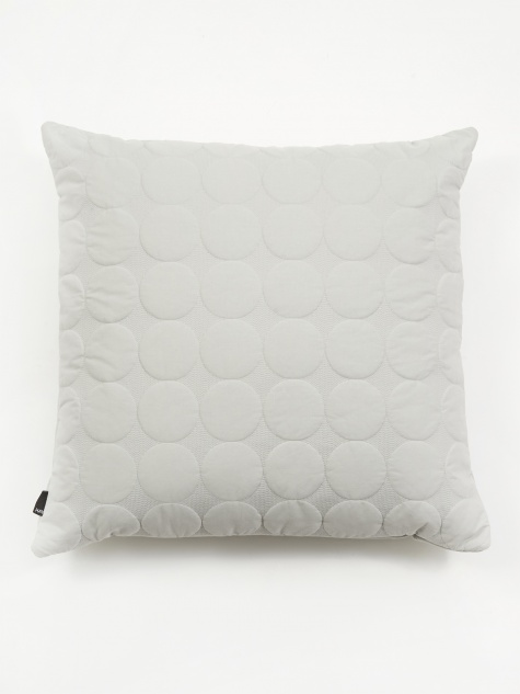 Mega Dot Cushion - Light Grey