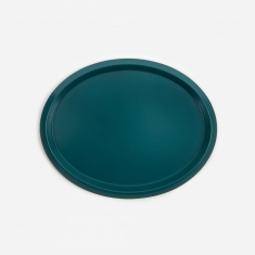 HAY Ellipse Tray S - Dark Green