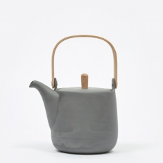 Sue Pryke Teapot - Dark Grey