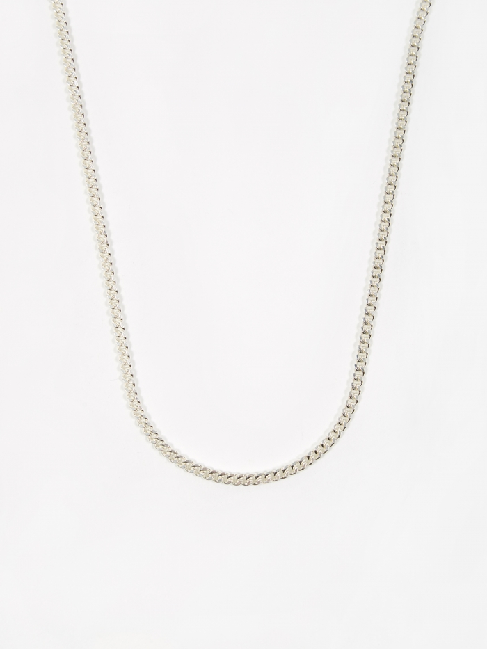 Goods By Goodhood Curb Chain / Silver / 3.5mm Gauge / 50cm (Image 1)