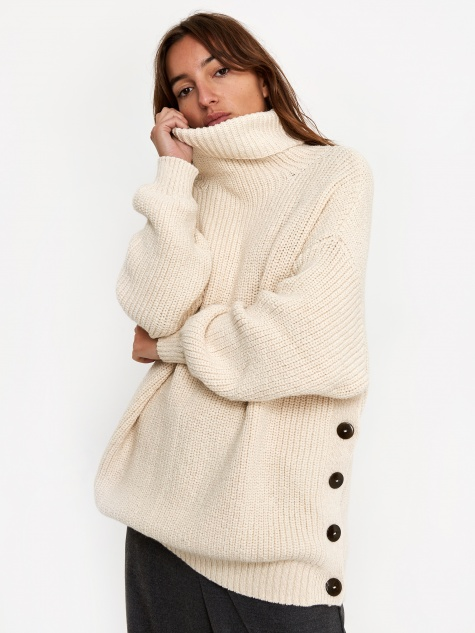 Mara Hoffman Evren Knit Jumper - Cream