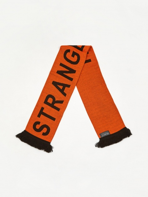 Strange Folk Scarf - Orange