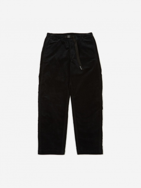 Stretch Corduroy Pant - Black