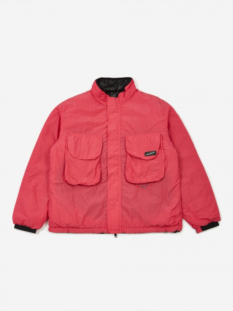 Nanamican Reversible Insulation Jacket - Pink/Black