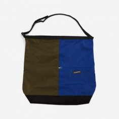 Nanamica Nanamican Utility Shoulder Bag L - Olive/Blue