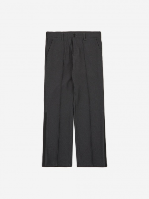 Side Line Trousers - Dark Grey/Black