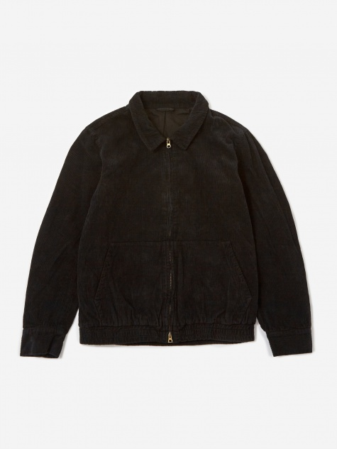 Harrison Cord Jacket - Black