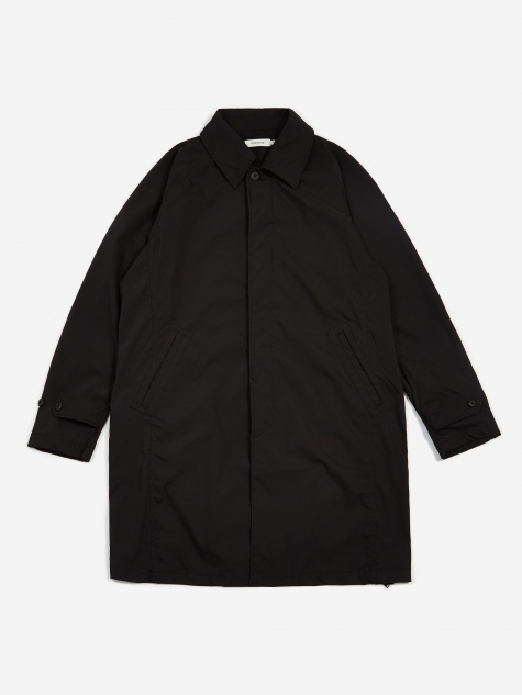 Nonnative Scholar Coat Poly Twill PILIANTEX - Black