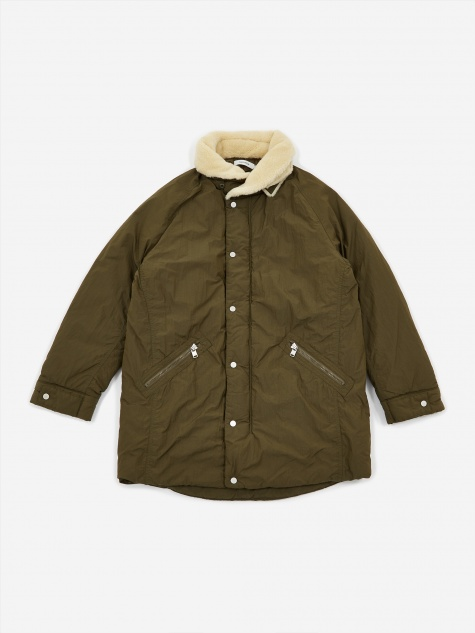Carpenter Puff Coat Nylon Taffeta - Olive