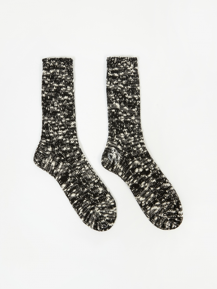 Nonnative Dweller Socks - Black (Image 1)
