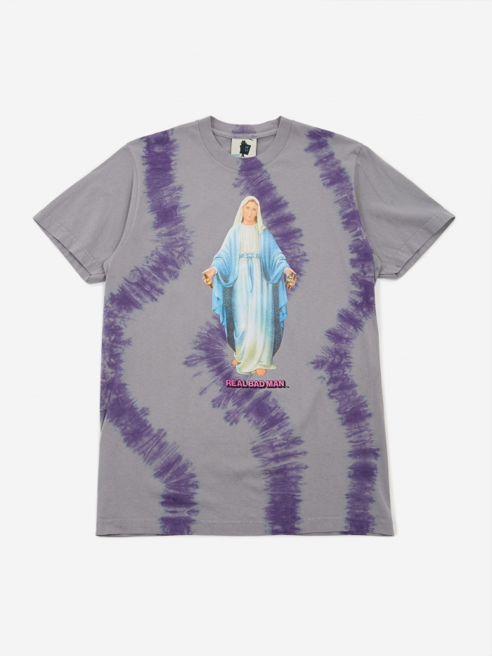 Real Bad Man Mary With The Watches Tie Dye Shortsleeve T-Shirt - (Image 1)
