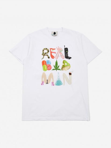 Mad Vices Shortsleeve T-Shirt - White