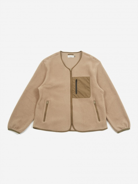 Mikah Fleece Jacket - Stone