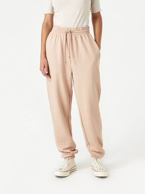 Basic Sweat Pants - Nude