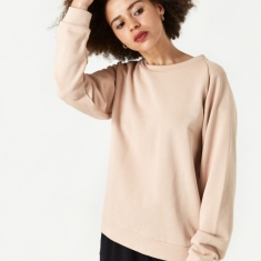 Baserange Basic Sweat - Nude