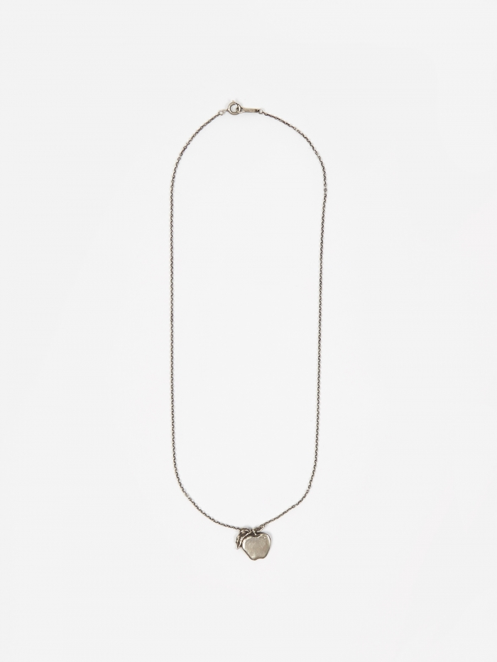 Undercover Apple Necklace (UCV8N02-1) - Silver (Image 1)