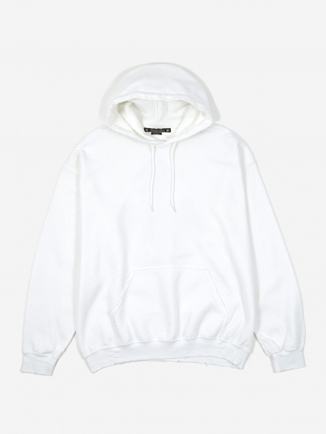 Kinpusen Pilling Sweat Hoodie - White