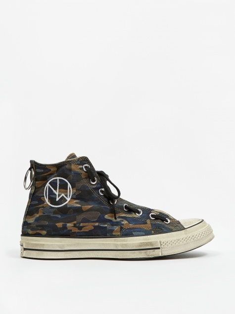 x Undercover Chuck Taylor All Star Hi - Black/Camo